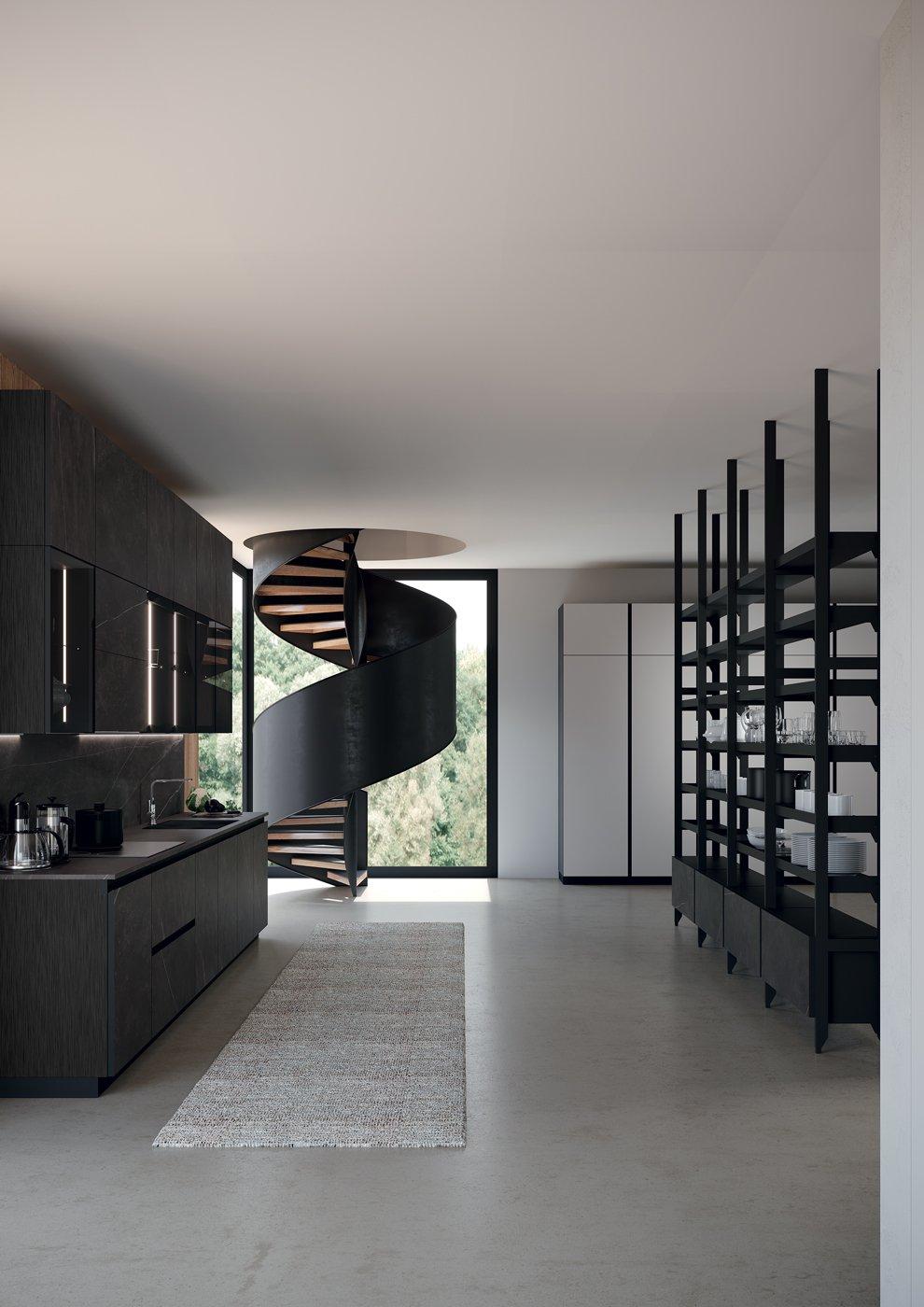 Febal-Casa-cucina-moderna-Kaleidos-stile-industrial-041-mobilinoè